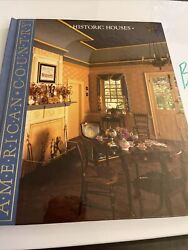 Historic Houses American Country By Time-life Books Brand New Hard Cover