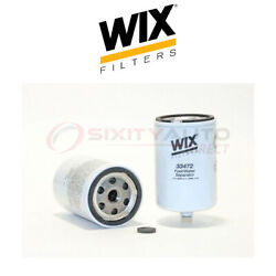 Wix Fuel Water Separator Filter For 1992-1999 Ford F800 5.9l 8.3l L6 - Gas Zu