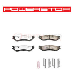 Power Stop Truck And Tow Disc Brake Pads And Hardware For 1998 Dodge B1500 3.9l Bu