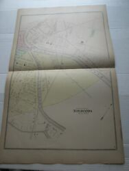 1-1880 Antique Map, North East Of Tonawanda, Erie County Atlas, Ny, F W Beers