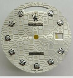 Used Rolex Dial Daydate Jubilee Oyster 10 Round Factory Original Diamonds