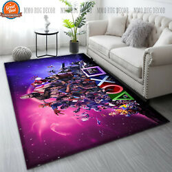 Hot - Playstation Ps5 Gaming Area Rug Movies Carpet Anti Skid Home Decor