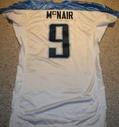 Tennessee Titans Steve Mcnair Authentic Game Cut Titans Jersey 2005 Size 54 Q