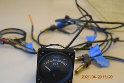 Alcor Engine Egt Gauge With Probes Good Condition