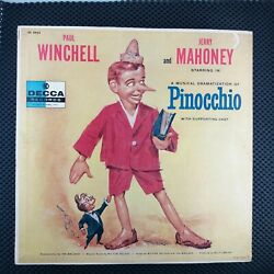 Paul Winchell Jerry Mahoney Andndash A Musical Dramatization Of Pinocchio Dl 8463