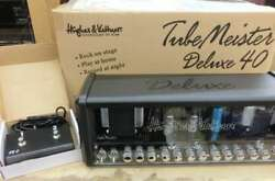 Hughes And Kettner Head Amp Tubemeister Deluxe40 With Hood Switch Bag From Japan