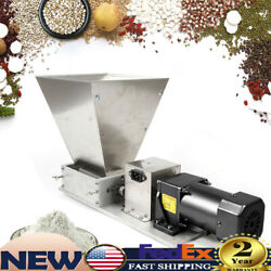 Electric Grain Grinder Feed Grain Mill Dry Rice Wheat Corn Two-roller Mill 4l60w