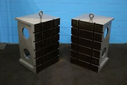 Set 24 X 36 X 20-1/2 G And L T Slotted Angle Plates Yoder 73829