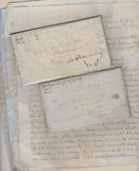 1847-48 - Commander Of The U.s. 3rd Dragoons Mexican War Correspondence Archive