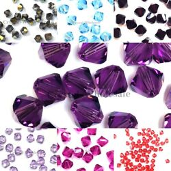 5301 4mm Crystal Bicone Beads Factory Pack 1440 Clearance Discontinued