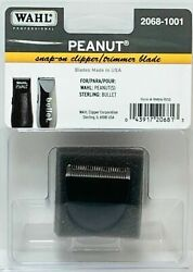 Wahl 2068-1001 Black Peanut Replacement Clipper/trimmer Blade Snap
