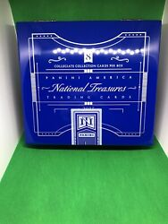 💎2015 Unsealed Collegiate National Treasures Hobby Box Hot Box💎
