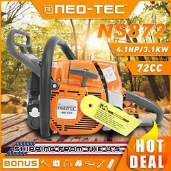 72cc Gas Chainsaw Power Head Fit Stihl 038 Ms380 Ms381 382 Chain Saw Without Bar