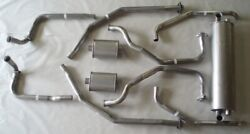1962-1964 Electra And Electra 225 Dual Exhaust System With Resonators, Aluminized