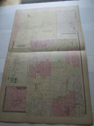 1-1880 Antique Map, North Collins Shirley++, Erie County Atlas, Ny, F W Beers