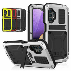 Aluminum Metal Shockproof Screen Protector Stand Case For Samsung A32 5g/4g