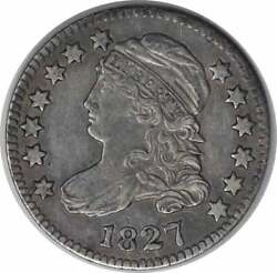 1827 Bust Silver Dime Choice Ef Uncertified