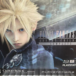 New Playstation 3 Ps3 Final Fantasy Vii Advent Children Complete Console 160gb