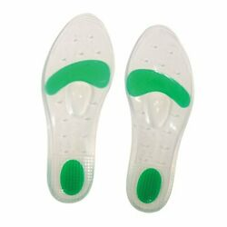 Stein's Silicone Dual Density Comfort Shoe Gel Insoles For Extra Arch Support