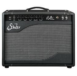 New Suhr Bella Reverb Combo 6l6 Tube Electric Guitar Amplifier Black 44 Watts