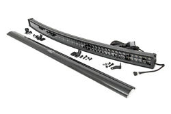 Rough Country 54 Curved Led Light Bar | Dual Row Cree | Daytime Running Light