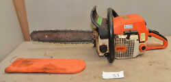 Vintage Stihl 029 Super Logging Chainsaw Collectible Wood Saw Cutting Tool S1