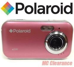 Polaroid Caa-200pc 2mp Cmos Digital Camera With 1.44-inch Lcd Display Pink Not