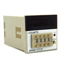 Brand New Omron Automation And Safety H7cn-xln Counter Digital Up Preset 120-240v