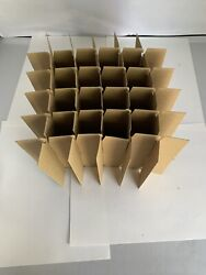 Packing Supplies For Pippettes And Test Tubes Glass Divider 32 Cell- Box Of 34