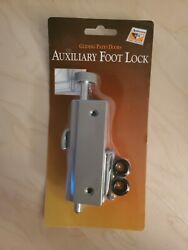Andersen Auxiliary Security Lock, Foot Latch- Stone