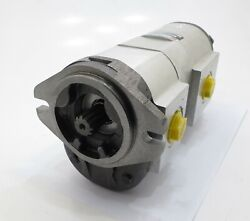 Tandem High Flow Hydraulic Pump - Fits Jcb 20/205800 For Robot Skid Steers