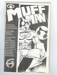 Muff Man Ashcan Edition 1 Vf+ Signed And Numbered 132/200 - Kev O'neill Pin-up
