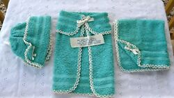 Vintage Kitchen Baby Themed Washcloths Shower Gag Gift Penney's With Poem Funny