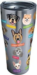 TERVIS DOGS INSULATED COFFEE ROTTWEILER POODLE PUG BOXER BEAGLE TUMBLER CUP 30oz
