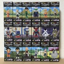 Dragonball Z Resurrection F Wcf World Collectable Figure Complete Set Japan F/s