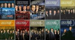 Law And Order Criminal Intentcomplete Series-1 -10 Dvd Set Free Shipping New