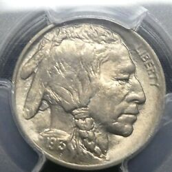 1913 Type-1 5c Buffalo Nickel Five Cents Certified Pcgs Ms65 Us Mint Coin