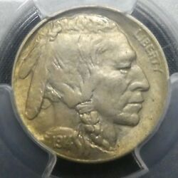 1914 D 5c Buffalo Nickel Five Cents Certified Pcgs Ms62 Us Mint Coin