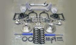 1949-1954 Chevy Car Mustang Ii Complete Front Suspension Power Stock Ford Rotors