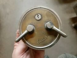 Vintage 1916 1920and039s Delco Ignition Light Switch Original 1133 Buick 8 Brass