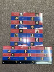 Lot Of 7 Seven United States Mint Presidential 1 Coin Sets + 2007 Thru 2013