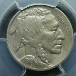 1919 S 5c Buffalo Nickel Five Cents Certified Pcgs Au53 Us Mint Coin