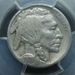 1921 S 5c Buffalo Nickel Five Cents Certified Pcgs Vf25 Us Mint Coin