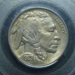 1923 5c Buffalo Nickel Five Cents Certified Cac Pcgs Ms64 Us Mint Coin