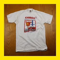 Vintage Corvair Convention T Shirt Vairs In The Air Chevy/corsa 1996/90s Cnm