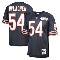 Chicago Bears Brian Urlacher 54 Mitchell And Ness Navy 2001 Nfl Authentic Jersey