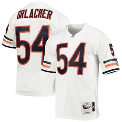 Chicago Bears Brian Urlacher 54 Mitchell And Ness White Nfl 2000 Authentic Jersey