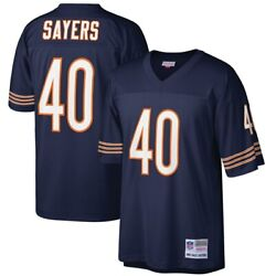 Chicago Bears Gale Sayers Mitchell Ness Navy 1969 Retired Legacy Player Jersey