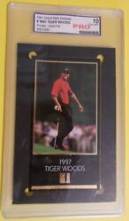 Tiger Woods Gsv Masters Champs @@rare-gold Foil@@ Pro Gem Mint 10 Maybe Ps_ 10