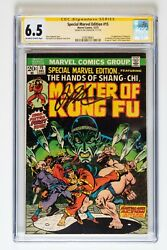 Special Marvel Edition 15 1st Appearance Of Shang-chi Master Of Kung Fu